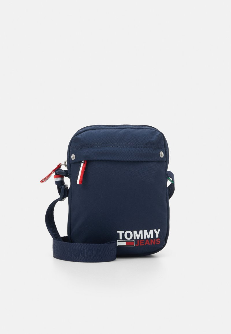 Tommy Jeans - TJM CAMPUS  REPORTER - Across body bag - blue