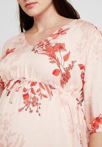 Queen Mum - DRESS 3/4 AUSTIN - Korte jurk - emberglow - 6