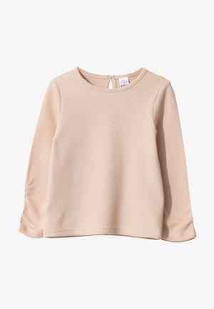 Long sleeved top - light pink