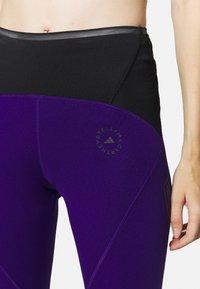 adidas by Stella McCartney - TRUEPACE - Medias - collegiate purple/black - 4
