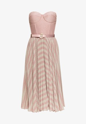 Cocktail dress / Party dress - pink/oro