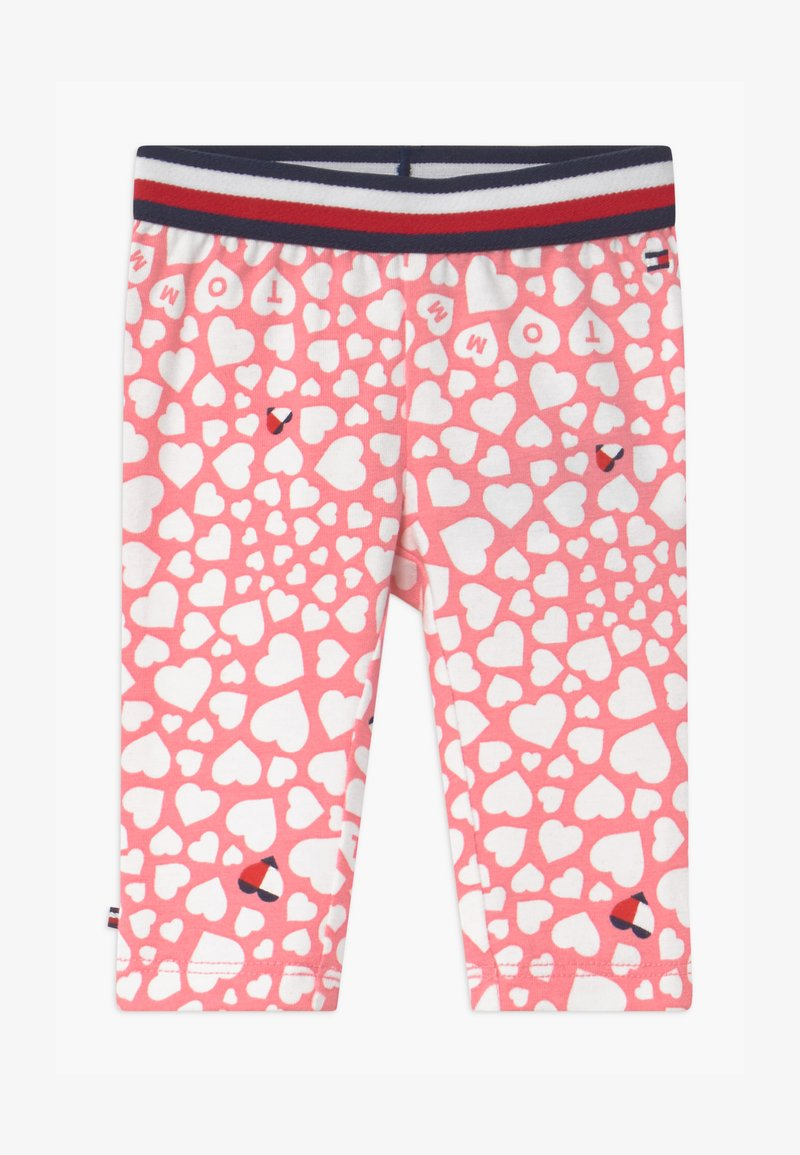 Tommy Hilfiger - BABY GIRL - Leggings - Trousers - pink