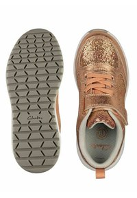 Clarks - AEON FLEX - Sneakers laag - copper leather - 3