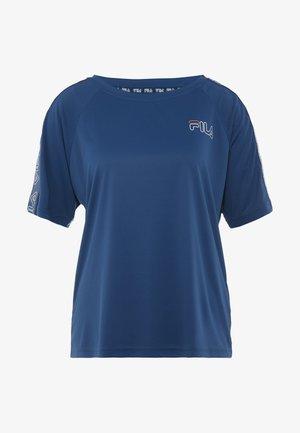 ADEL TEE LOOSE FIT - Camiseta estampada - gibraltar sea
