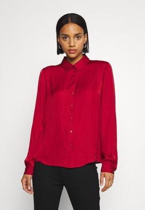 VIDREAMY - Button-down blouse - red dahlia
