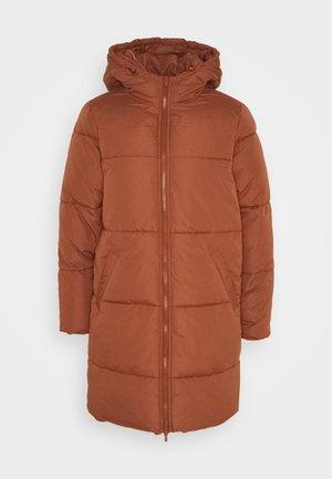 VITRUST  LONG JACKET - Płaszcz zimowy - tortoise shell
