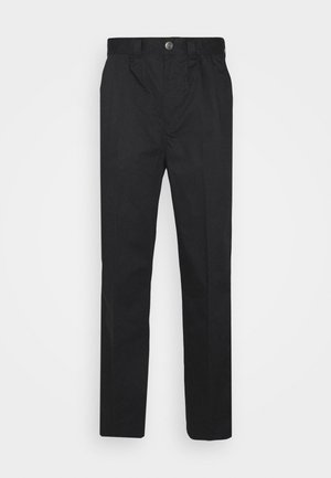 OSCARVILLE PLEATED PANT - Trousers - black