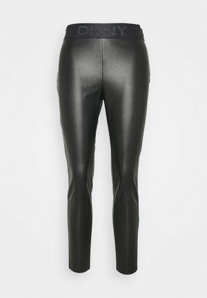 PULL ON  - Leggings - Trousers - black