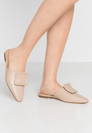 APPLICATION DETAILED - Mules - beige
