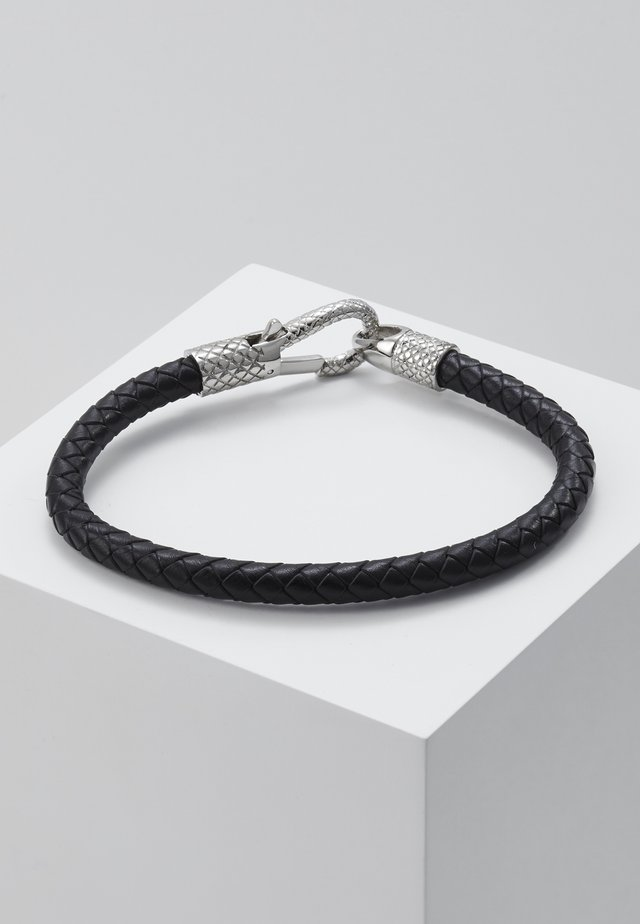 NILAND - Armband - black/silver-coloured