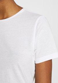 Weekday - MATILDA - T-shirts - white - 5