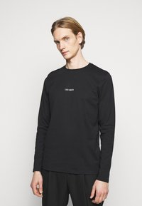 Les Deux - LENS - Long sleeved top - black/white - 0