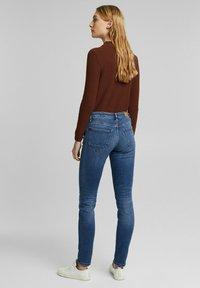 Esprit - FASHION  - Slim fit jeans - blue medium washed - 2