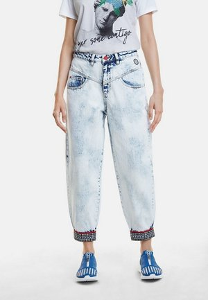 DENIM_TOUCH THE SKY - Relaxed fit jeans - blue