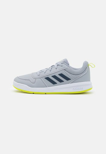 TENSAUR UNISEX - Sports shoes - halo silver/crew navy/acid yellow