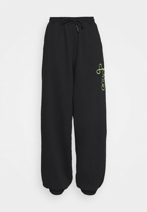 VARSITY SIGNATURE JOGGERS - Spodnie treningowe - black