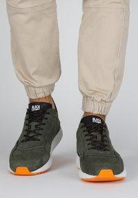 Blackstone - Matalavartiset tennarit - green - 0