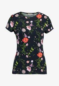 Ted Baker - JINENE - Print T-shirt - navy - 4
