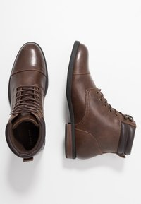 Pier One - Lace-up ankle boots - brown - 1