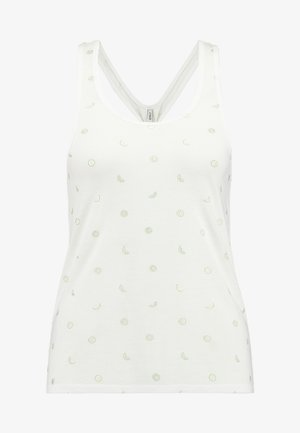 ONLISABELLA TANK - Toppe - cloud dancer
