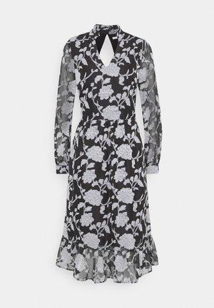 LCKRISTA DRESS - Day dress - black / white