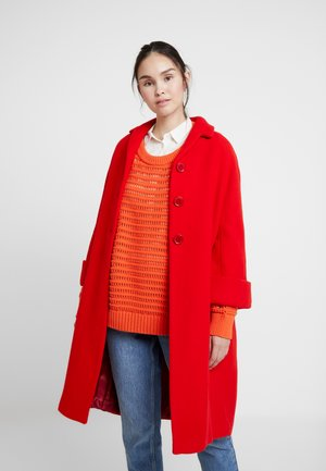 COCOON COAT - Cappotto classico - red