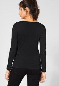 Street One - Long sleeved top - black - 2