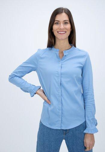 MATTIE  - Button-down blouse - bel air blue