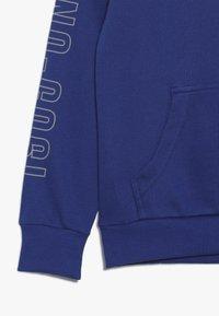 Benetton - SWEATER HOOD - Felpa con cappuccio - blue - 2