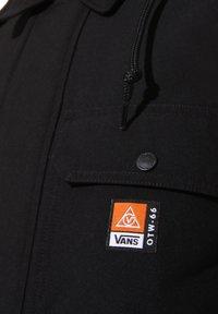 Vans - MN 66 SUPPLY LONG DRILL CHORE COAT MTE - Parka - black - 5