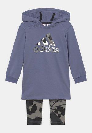 DRESS SET - Leggings - orbit violet/ambient blush/solid grey/carbon/black