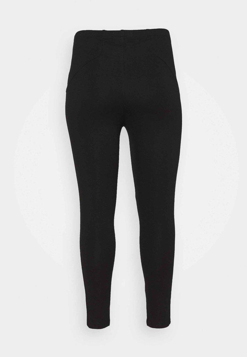 CAPSULE by Simply Be ZIP DETAIL SHAPER - Leggings - Hosen - black/schwarz gWzr9w
