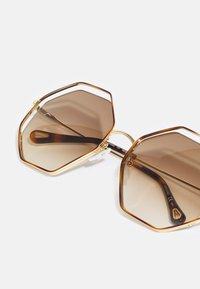 Chloé - Occhiali da sole - havana/gold-coloured/brown - 6