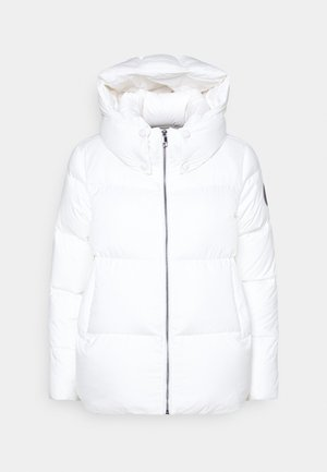 PUFFY HOODED - Doudoune - ecru