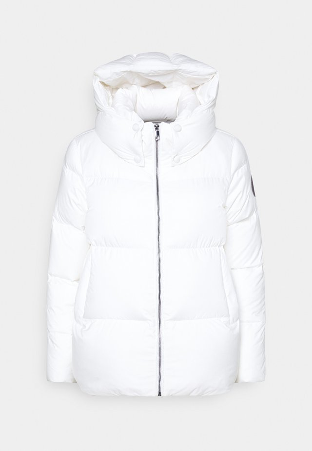 PUFFY HOODED - Down jacket - ecru