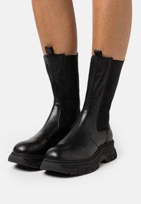 Chio - Platform boots - black dream - 0