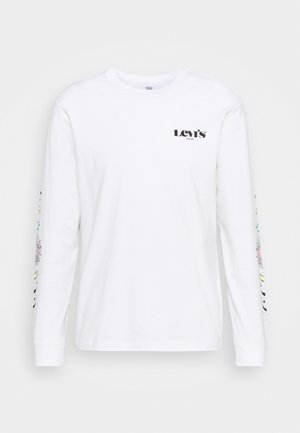 RELAXED GRAPHIC TEE - Langærmede T-shirts - white