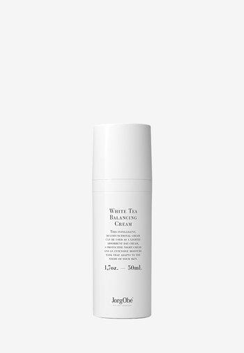 WHITE TEA BALANCING CREAM - Face cream - -