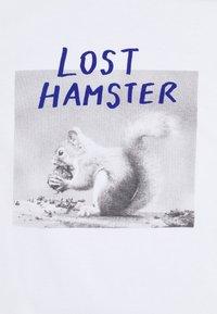 PS Paul Smith - WOMENS HAMSTER - Print T-shirt - white - 2