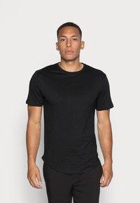 Only & Sons - ONSMATT  5 PACK - T-shirt - bas - black/white/blue - 5