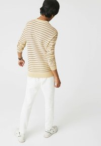 Lacoste - PULLY - Jumper - beige/navy blau - 2