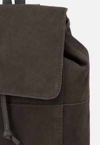Zign - LEATHER - Rucksack - anthracite - 3