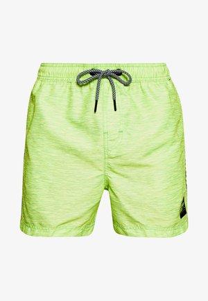 HYPER BEACH VOLLEY SWIM - Swimming shorts - fluro green space