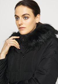 Lauren Ralph Lauren - HAND MAXI COAT - Dunkåpe / -frakk - black - 5