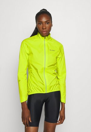 BIKE JACKET AERO POCKET - Veste coupe-vent - light green