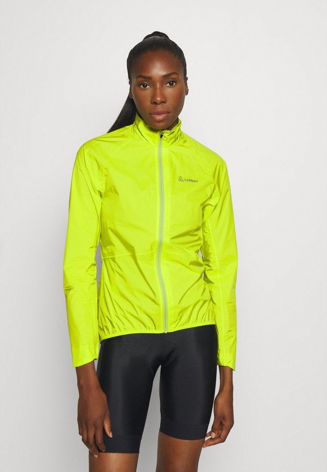 BIKE JACKET AERO POCKET - Tuulitakki - light green