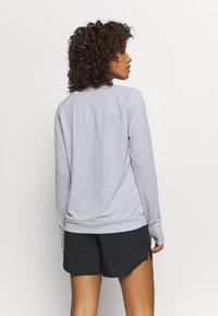 Nike Performance - PACER CREW - Sports shirt - smoke grey - 2