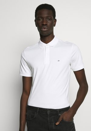 SOFT INTERLOCK SLIM - Polo shirt - white