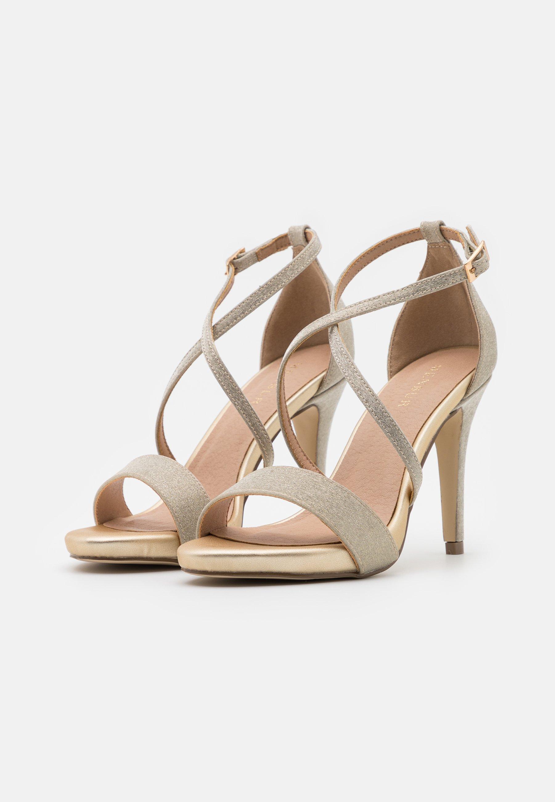 Menbur High Heel Sandalette gold