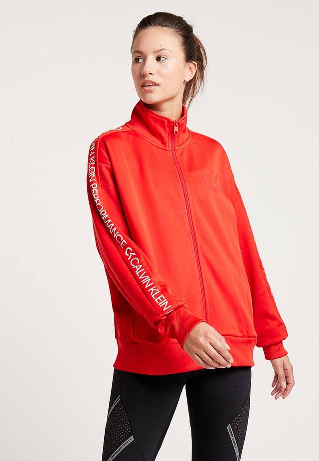 HOODY - Giacca sportiva - high risk red